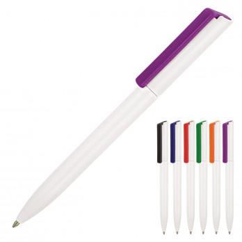 Minimalist White Ballpoint Pen