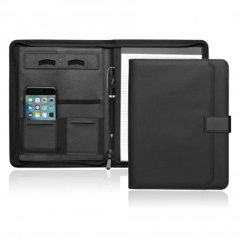 A4 Tech Folio w/Zipper and Magnetic Closure