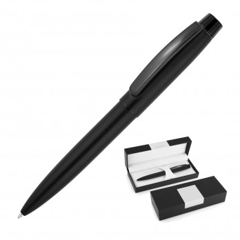Matte Black Metal Ballpoint Pen