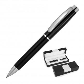 Pattern Black Metal Ballpoint Pen