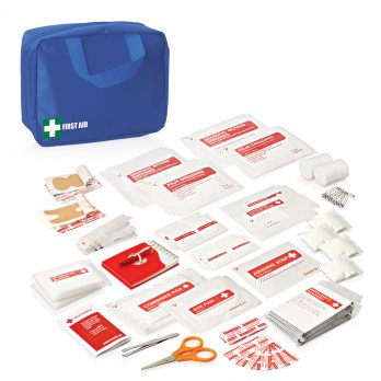88pc First Aid Kit-Blue