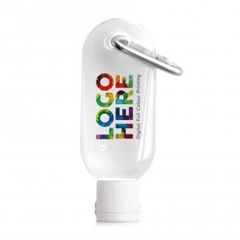 Sanitising Hand Gel 30ml on Carabiner