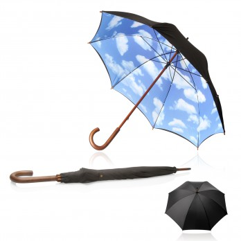 Shelta Big Blue Sky Long Umbrella