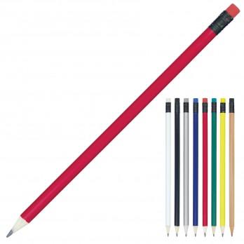 Sharpened Pencil w/Coloured Eraser