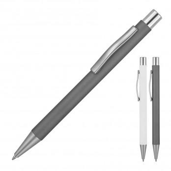Michaela Satin Matte Rubber Metal Ballpoint Pen
