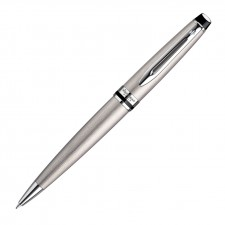 Waterman New Expert Ballpoint Pen - Brushed Stainless CT