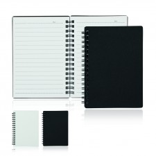 A6 80 Leaf Spiral Bound Notebook