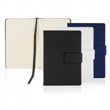 A6 128 Leaf Journal w/Magnetic Closure