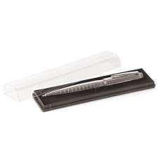 Clear Pen Display Case w/Coloured Insert