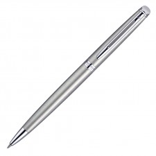 Waterman Hemisphere Ballpoint Pen - Brushed Stainless CT