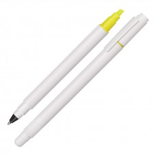 Ballpoint Pen/Hightlighter Duo