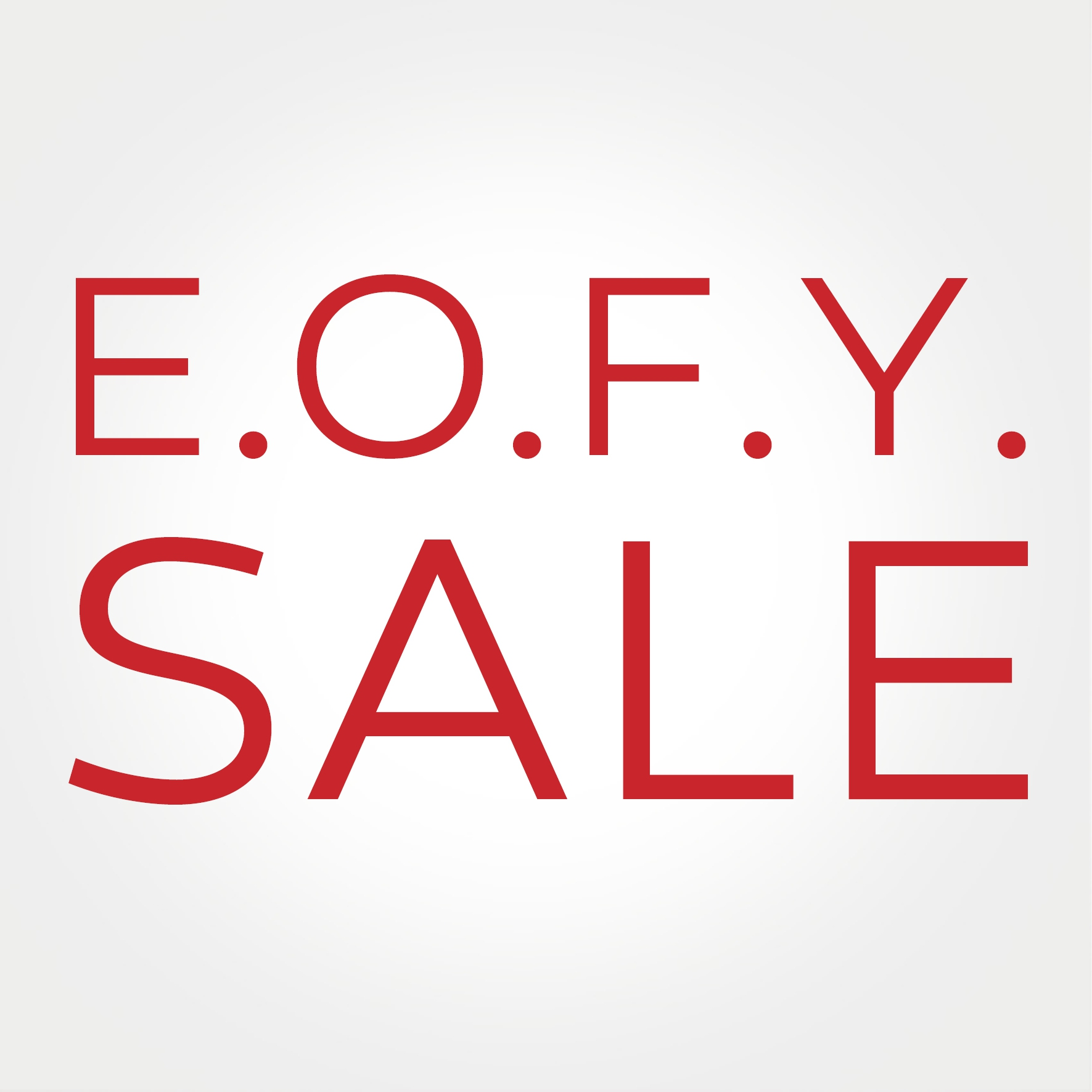 EOFY Sale
