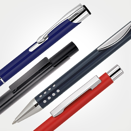 METAL PENS - EXECUTIVE (ALUMINIUM)