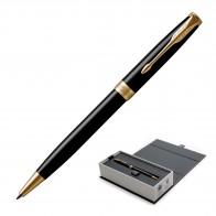 Metal Pen Ballpoint Parker Sonnet - Lacquer Black GT