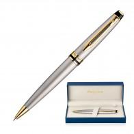 Metal Pen Ballpoint Waterman Expert - Brushed Stainless GT