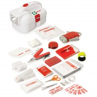 50pc Emergency Torch First Aid Kit