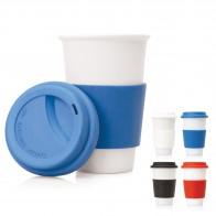 Slim Ceramic Eco Travel Mug 300ml