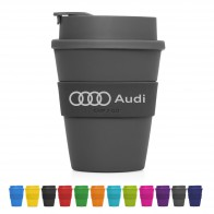 Eco Coffee Cup Plastic Flip-top Cup2Go 356ml
