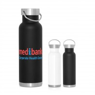 540ml Double Wall Stainless Bottle - Handle Lid