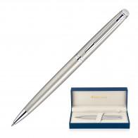 Metal Pen Ballpoint Waterman Hemisphere - Brushed Stainless CT