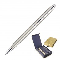 Waterman Hemisphere Ballpoint Pen - Brushed Stainless CT