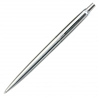 Parker Jotter Metal Ballpoint Pen - Brushed Stainless CT