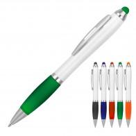 Cara Stylus White Ballpoint Pen