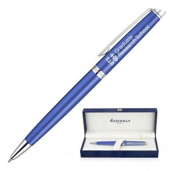 Metal Pen Ballpoint Waterman Hemisphere - Bright Blue CT