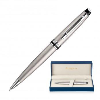 Metal Pen Ballpoint Waterman Expert - Brushed Stainless CT