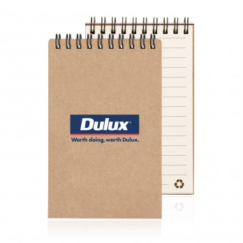 Eco Notepad Recycled Paper Spiral Bound