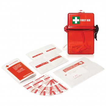 First Aid Kit Waterproof 15pc