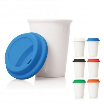 Slim Ceramic Eco Travel Mug 260ml