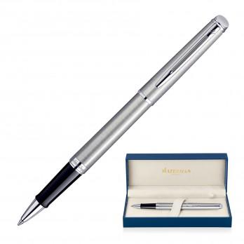 Waterman Hemisphere Rollerball Pen - Brushed Stainless CT