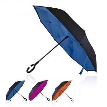 Umbrella 53cm Double Canopy Reverse Shelta