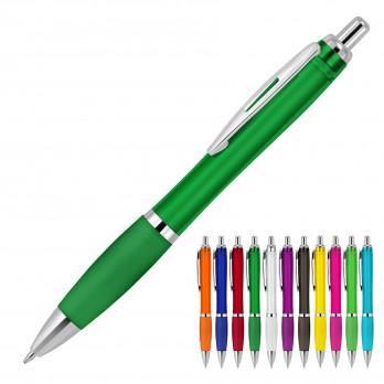 Plastic Pen Ballpoint Transparent Cara
