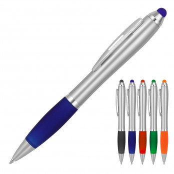 Cara Stylus Silver Ballpoint Pen