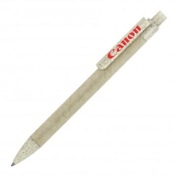 Eco Pen Ballpoint Paper Wheat Jade