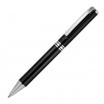 Tom Carbon Fibre Metal Ballpoint Pen (Mirror Engrave)