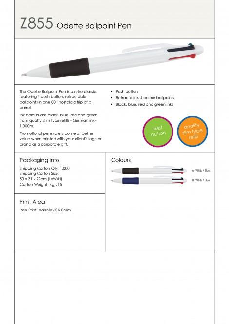 Z855 Odette Ballpoint Pen