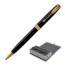 Parker Sonnet Ballpoint Pen - Matte Black GT