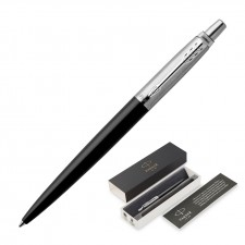 Metal Pen Ballpoint Parker Jotter - Bond Street Black CT
