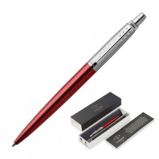 Metal Pen Ballpoint Parker Jotter - Kensington Red CT