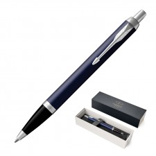 Metal Pen Ballpoint Parker IM - Matte Blue CT