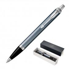 Metal Pen Ballpoint Parker IM - Blue Grey Stainless CT