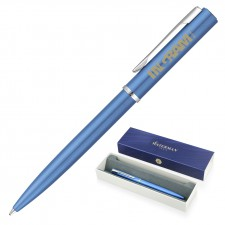 Metal Pen Ballpoint Waterman Allure - Blue CT