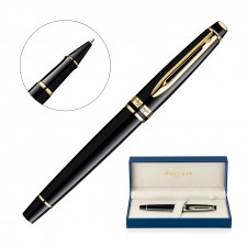 Metal Pen Rollerball Waterman Expert - Lacquer Black GT