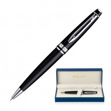 Metal Pen Ballpoint Waterman Expert - Matte Black CT