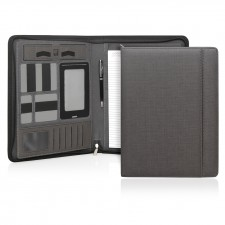Milano Executive Tech A4 Compendium w/Zipper