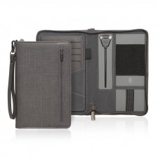 Milano Executive Tech Travel Wallet w/Powerbank