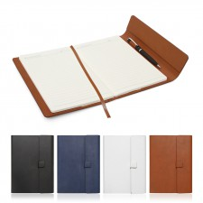 A5 Leather Look Journal with Sleeve